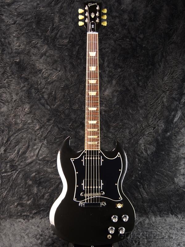 【中古】Gibson SG Standard -Ebony- 2012年製[ギブソン][スタンダード][エボニー,Black,ブラック,黒][Electric Guitar,エレキギター]【used_エレキギター】