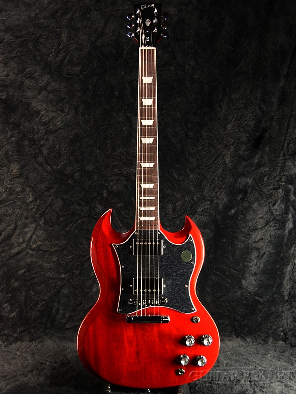 【2019 MODEL】Gibson SG Standard 2019 -Heritage Cherry- 新品[ギブソン][スタンダード][チェリー,赤,木目][エスジー][Electric Guitar,エレキギター]
