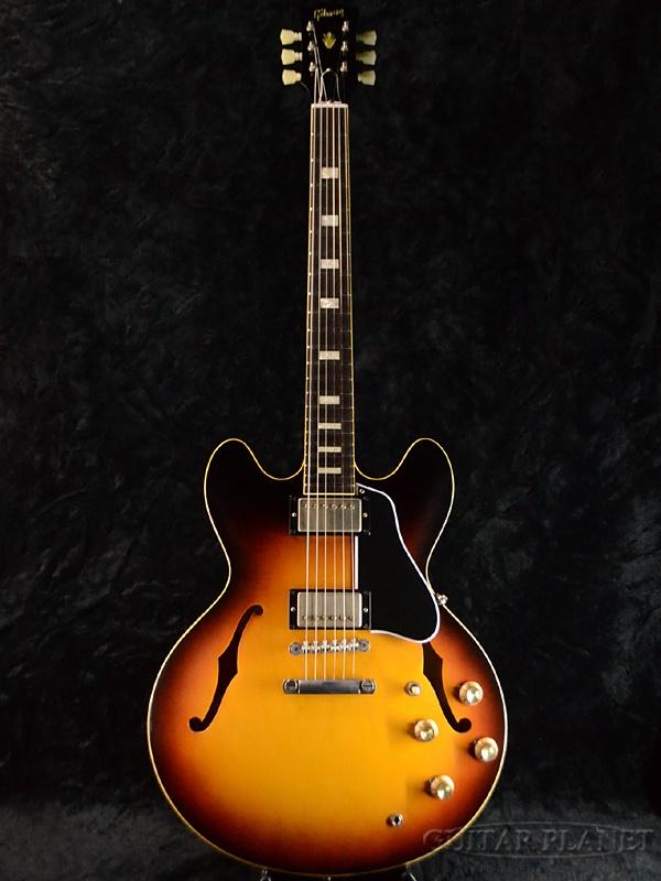 Gibson Memphis Historic Series 1963 ES-335TD VOS Historic Burst #61070 新品[ギブソン][メンフィス][サンバースト][セミアコ][Electric Guitar,エレキギター][ES335]