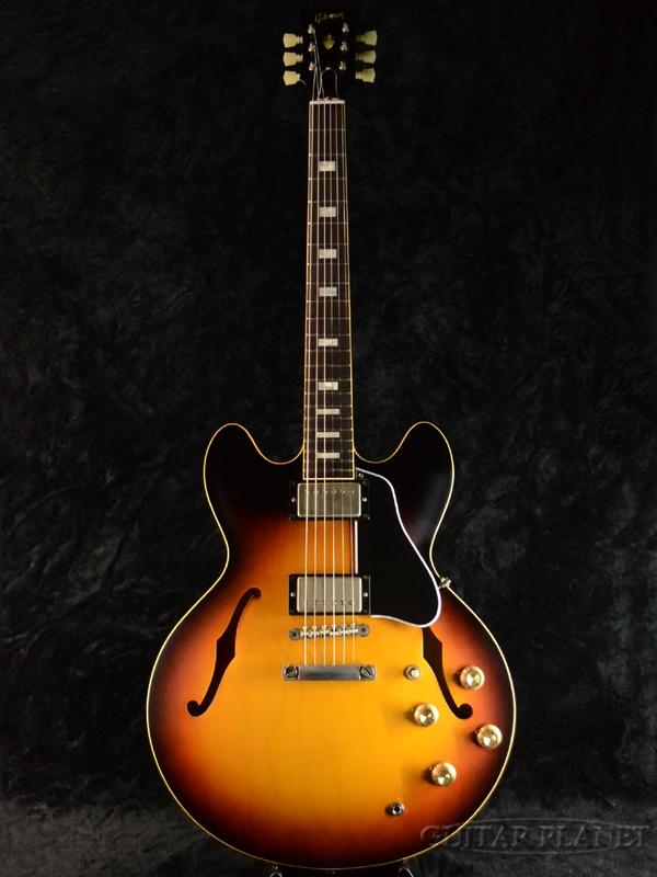 Gibson Memphis Historic Series 1963 ES-335TD VOS Historic Burst #61922 新品[ギブソン][メンフィス][サンバースト][セミアコ][Electric Guitar,エレキギター][ES335]