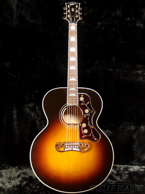 Gibson SJ-200 Standard Vintage Sunburst 2017 新品[ギブソン][スタンダード][サンバースト][Acoustic Guitar,アコースティックギター,アコギ,Folk Guitar,フォークギター][SJ200]