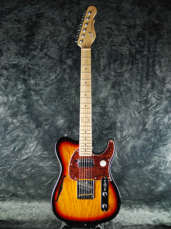 G & L Tribute ASAT Classic Blues Boy Semi-Hollow new Tone Sunburst / Maple  Fingerboard [Leo Fender] [tribute] ASAT classic [semihollow] Blues boy 3