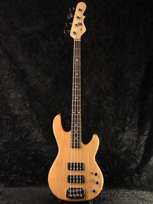 G&L USA L-2000 NAT/EB 新品[レオフェンダー,Leo Fender][L2000][Natural,ナチュラル,木目][エレキベース,Electric Bass]