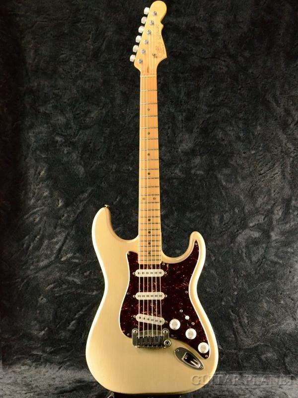 【中古】G&L USA Legacy Rustic -Blond / Maple- 2009年製[ジーアンドエル,Leo Fender,レオ・フェンダー][レガシー][ラスティック][ブロンド][Stratocaster,ST,ストラトキャスタータイプ][Electric Guitar,エレキギター]【used_エレキギター】