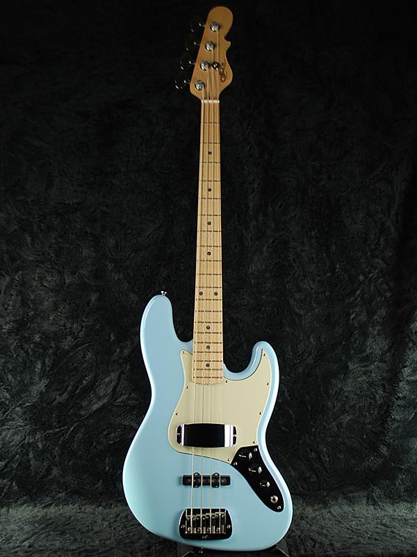 New G Amp L USA JB Baby Blue M Leo Fender Jazz Bass Electric