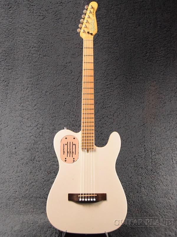 【中古】Godin Acousticaster -White / Maple-[ゴダン][アコースティキャスター][ホワイト,白][Electric Acoustic Guitar,エレクトリックアコースティックギター,エレアコ]【used_アコースティックギター】