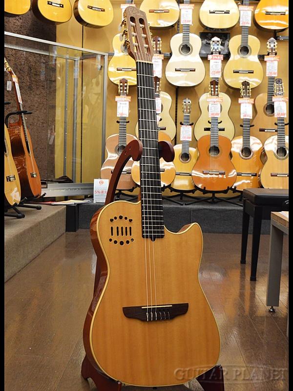 【中古】Godin Multiac Duet Nylon 1996年製[ゴダン][ナチュラル][Classic Guitar,クラシックギター]【used_エレガット】