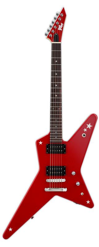 BanG Dream! Random Star Kasumi 新品 戸山香澄モデル[バンドリ!][ランダムスター][Red,レッド,赤][Poppin'Party][Electric Guitar,エレキギター]