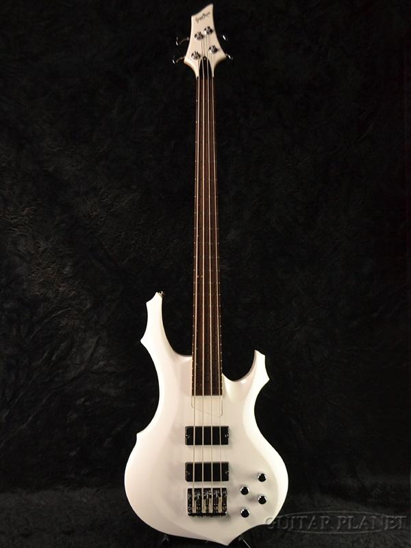 GrassRoots G-FR-52B 新品 パールホワイト[グラスルーツ][ESPブランド][Forest,フォレスト][Pearl White,白][Electric Bass,エレキベース]