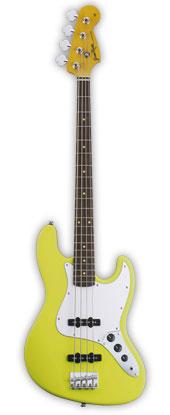 GrassRoots G-JB-55R 新品 イエロー[グラスルーツ][ESPブランド][Jazz Bass,ジャズベースタイプ][Yellow,黄][Electric Bass,エレキベース]