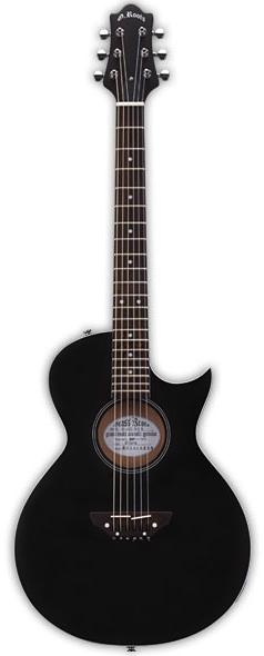 GrassRoots G-AC-50N See Thru Black Satin 新品[グラスルーツ][ESPブランド][シースルーブラック,黒][Electric Acoustic Guitar,エレアコ,アコギ,アコースティックギター,Folk Guitar,フォークギター][GAC50N]