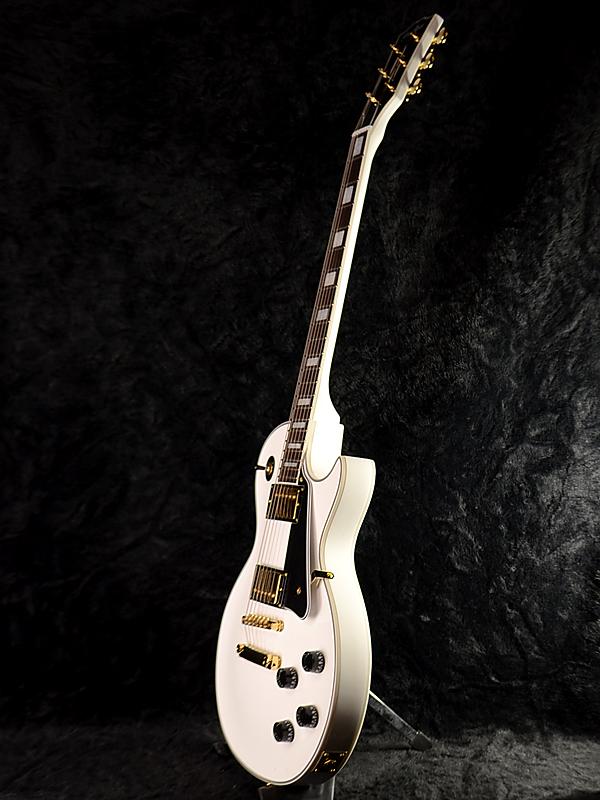 GrassRoots G-LP-60C新货白[玻璃杯根][ESP名牌][Les Paul Custom,莱斯·保罗特别定做Les Paul Custom,莱斯·保罗特别定做型][White,白][Electric Guitar,电子吉他]