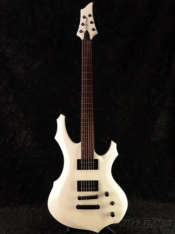 GrassRoots G-FR-56G 新品[グラスルーツ][ESPブランド][Forest,フォレスト][White,ホワイト,白][Electric Guitar,エレキギター]