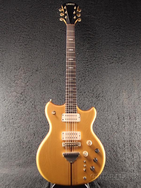 【中古】Greco GO1200 - Natural- 1977年製[グレコ][国産][ナチュラル][Electric Guitar,エレキギター]【used_エレキギター】