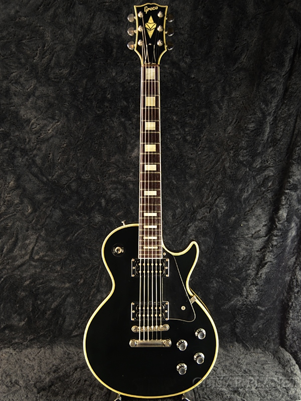 【中古】Greco JS65 -Ebony Black- 1984年製[グレコ][国産][ブラック,黒][Les Paul,レスポールタイプ][Electric Guitar,エレキギター]【used_エレキギター】