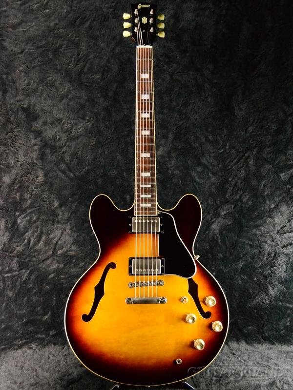 【中古】Greco SA-90 -TS- 1991年製[グレコ][国産][Sunburst,サンバースト][セミアコ][Electric Guitar,エレキギター]【used_エレキギター】