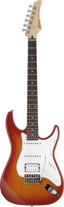 【ERNIE BALL4点セット付】Greco WS-STD SSH Cherry Burst/Rosewood 新品[グレコ][国産][チェリーバースト][Stratocaster,ST,ストラトキャスタータイプ][Electric Guitar,エレキギター]