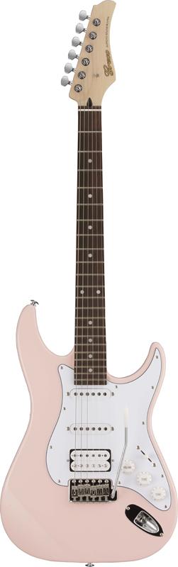 【ERNIE BALL4点セット付】Greco WS-STD SSH Light Pink/Rosewood 新品[グレコ][国産][ライトピンク][Stratocaster,ST,ストラトキャスタータイプ][Electric Guitar,エレキギター]