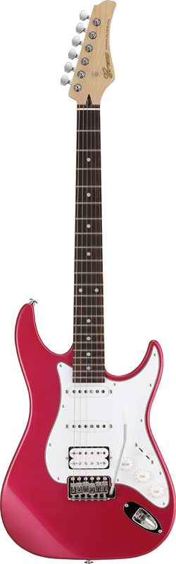【ERNIE BALL4点セット付】Greco WS-STD SSH Pearl Pink/Rosewood 新品[グレコ][国産][パールピンク,赤][Stratocaster,ST,ストラトキャスタータイプ][Electric Guitar,エレキギター]