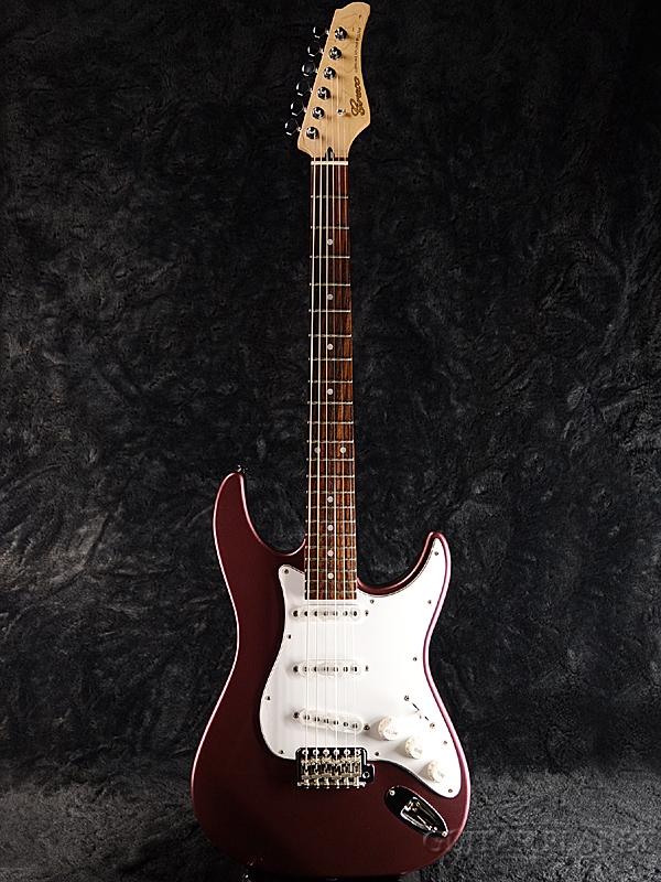 【ERNIE BALL4点セット付】Greco WS-STD Burgundy/Rosewood 新品 [グレコ][国産][バーガンディ][Stratocaster,ST,ストラトキャスタータイプ][Electric Guitar,エレキギター]