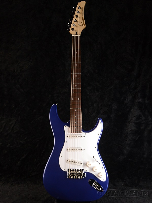 【ERNIE BALL4点セット付】Greco WS-STD Dark Blue/Rosewood 新品[グレコ][国産][ダークブルー,青][Stratocaster,ST,ストラトキャスタータイプ][Electric Guitar,エレキギター]