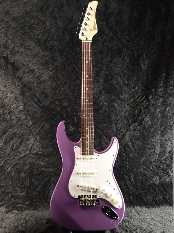 【限定カラー】Greco WS-STD 江戸紫/Rosewood 新品 [グレコ][国産][Purple,パープル][Stratocaster,ST,ストラトキャスタータイプ][Electric Guitar,エレキギター]