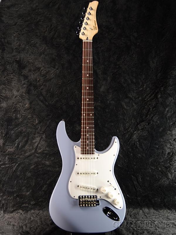 【限定カラー】Greco WS-STD 灰青/Rosewood 新品 [グレコ][国産][Greyish Blue,ブルー][Stratocaster,ST,ストラトキャスタータイプ][Electric Guitar,エレキギター]