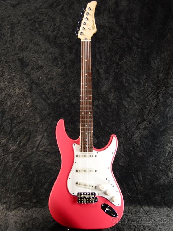 【限定カラー】Greco WS-STD 深緋/Rosewood 新品 [グレコ][国産][Red,レッド,赤][Stratocaster,ST,ストラトキャスタータイプ][Electric Guitar,エレキギター]