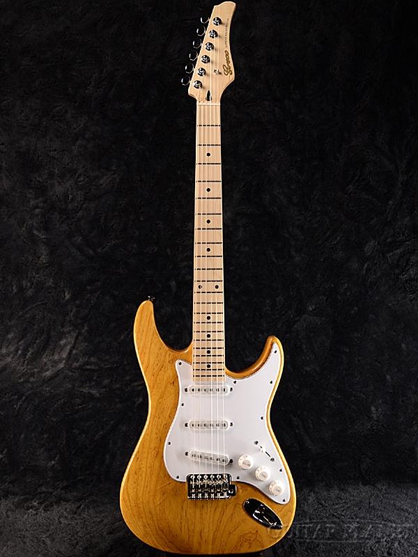 【ERNIE BALL4点セット付】【限定生産】Greco WS-STD/ASH Vintage Natural/Maple 新品[グレコ][国産][アッシュ][ヴィンテージナチュラル][Stratocaster,ST,ストラトキャスタータイプ][Electric Guitar,エレキギター]