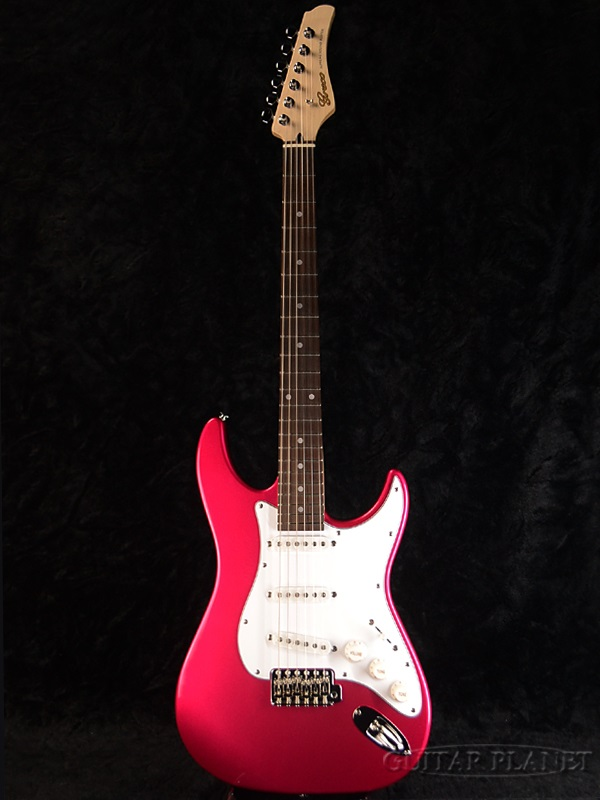 【ERNIE BALL4点セット付】Greco WS-STD Pearl Pink/Rosewood 新品 [グレコ][国産][パールピンク][Stratocaster,ST,ストラトキャスタータイプ][Electric Guitar,エレキギター]