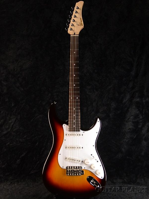 【ERNIE BALL4点セット付】Greco WS-STD Sunburst/Rosewood 新品 [グレコ][国産][サンバースト][Stratocaster,ST,ストラトキャスタータイプ][Electric Guitar,エレキギター]