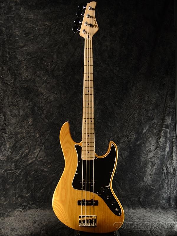Greco WSB-STD/ASH Vintage Natural/Maple 新品[グレコ][国産/日本製][Standard,スタンダード][ヴィンテージナチュラル][Jazz Bass,JB,ジャズベースタイプ][Electric Bass,エレキベース]