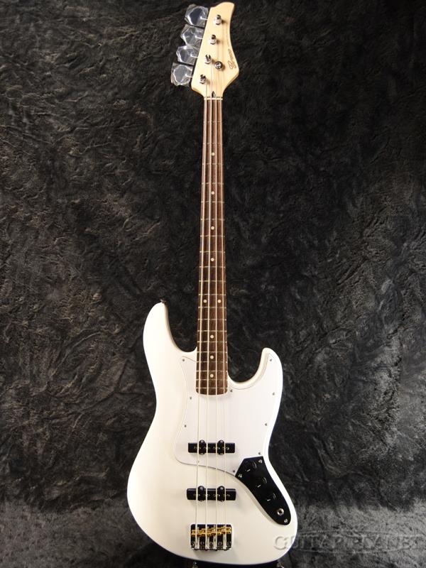 【中古】Greco WSB-STD -Matte White- 2010年代製[グレコ][マットホワイト,白][Jazz Bass,JB,ジャズベースタイプ][Electric Bass,エレキベース]【used_ベース】