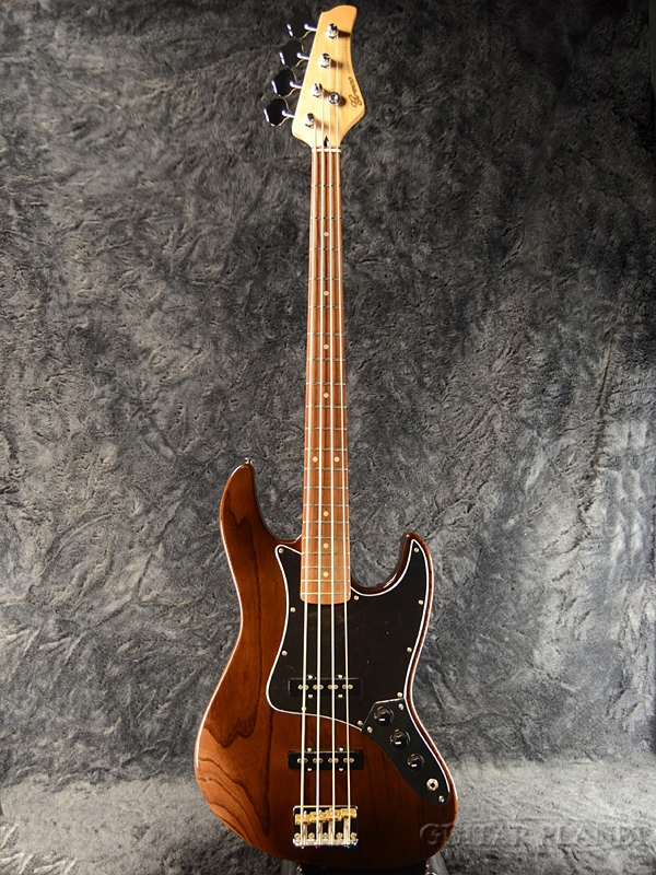 Greco WSB-STD/ASH Walnut/Maple 新品[グレコ][国産/日本製][Standard,スタンダード][ウォルナット][Jazz Bass,JB,ジャズベースタイプ][Electric Bass,エレキベース]