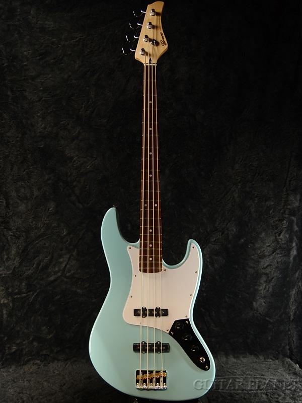 Greco WSB-STD Sky Blue/Rosewood 新品[グレコ][国産/日本製][Standard,スタンダード][スカイブルー,青][Jazz Bass,JB,ジャズベースタイプ][Electric Bass,エレキベース]
