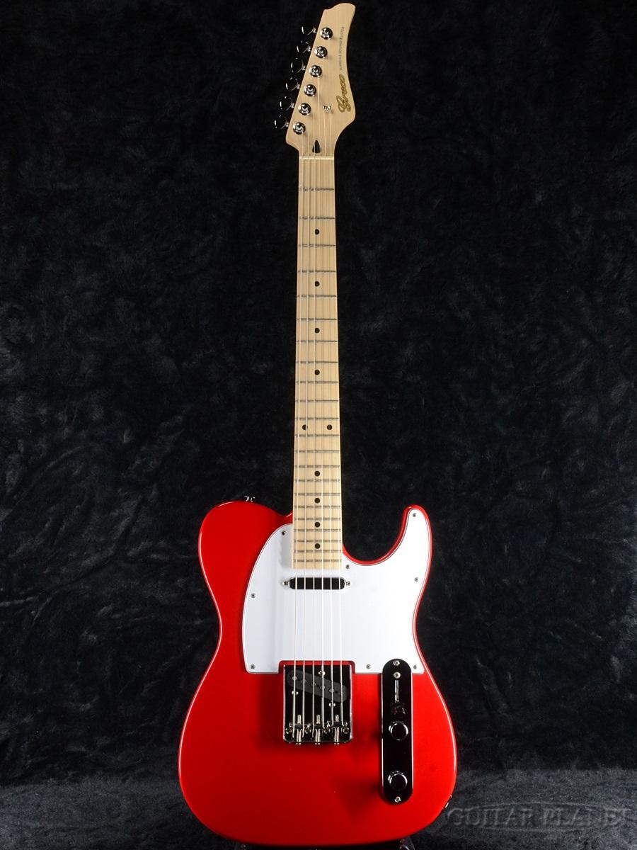 【同梱不可】 Greco WST-STD Red/Maple 新品[グレコ][国産][レッド,赤][Telecaster,TL,テレキャスタータイプ][Electric Guitar,エレキギター], 国立市 fd6a1b2c