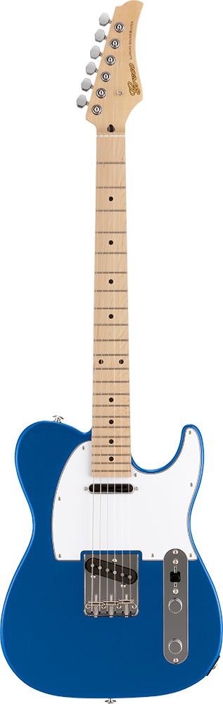 【ERNIE BALL4点セット付】Greco WST-STD Blue/Maple 新品[グレコ][国産][ブルー,青][Telecaster,TL,テレキャスタータイプ][Electric Guitar,エレキギター]