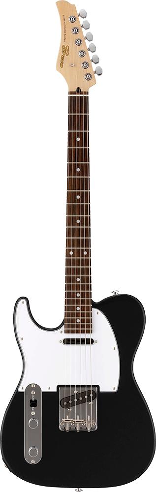 【ERNIE BALL4点セット付】Greco WST-STD/LH Matt Black/Rosewood 新品[グレコ][国産][Left hand,左用,左利き,レフトハンド,レフティー][ブラック,黒][Telecaster,TL,テレキャスタータイプ][Electric Guitar,エレキギター]