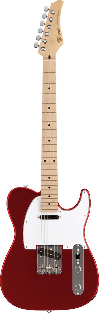 【ERNIE BALL4点セット付】Greco WST-STD Metallic Red/Maple 新品[グレコ][国産][メタリックレッド,赤][Telecaster,TL,テレキャスタータイプ][Electric Guitar,エレキギター]