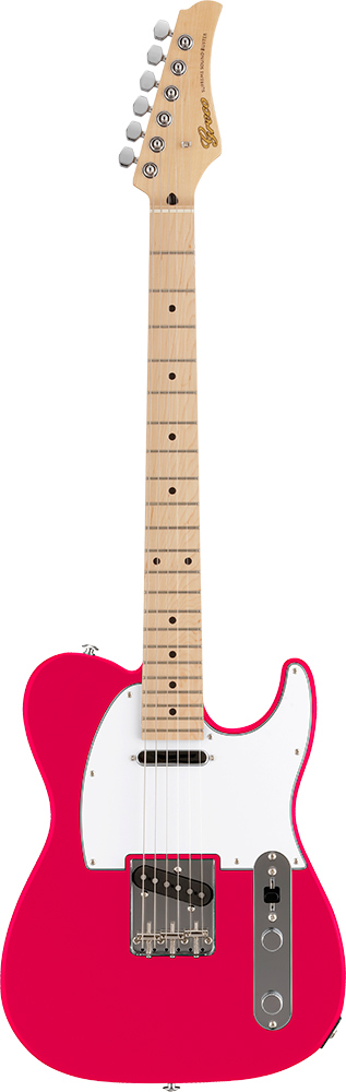 【ERNIE BALL4点セット付】Greco WST-STD Pearl Pink/Maple 新品[グレコ][国産][パールピンク][Telecaster,TL,テレキャスタータイプ][Electric Guitar,エレキギター]