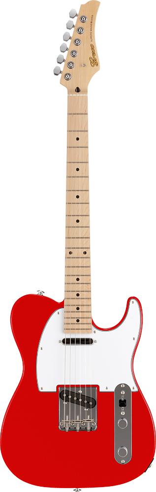 【ERNIE BALL4点セット付】Greco WST-STD Red/Maple 新品[グレコ][国産][レッド,赤][Telecaster,TL,テレキャスタータイプ][Electric Guitar,エレキギター]