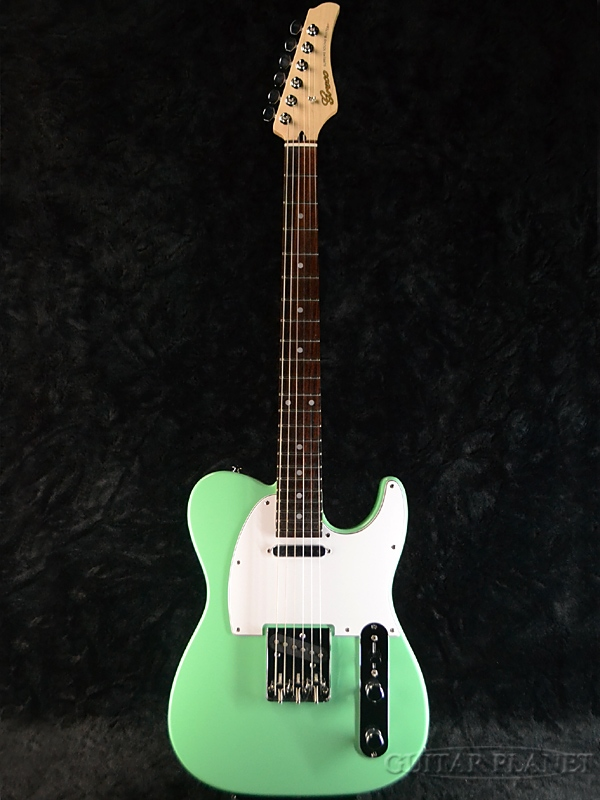 【ERNIE BALL4点セット付】Greco WST-STD Light Green/Rosewood 新品[グレコ][国産][グリーン,緑][Telecaster,TL,テレキャスタータイプ][Electric Guitar,エレキギター]
