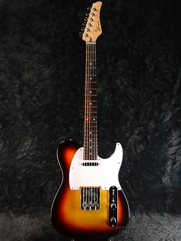 【ERNIE BALL4点セット付】Greco WST-STD Sunburst/Rosewood 新品[グレコ][国産][サンバースト][Telecaster,TL,テレキャスタータイプ][Electric Guitar,エレキギター]