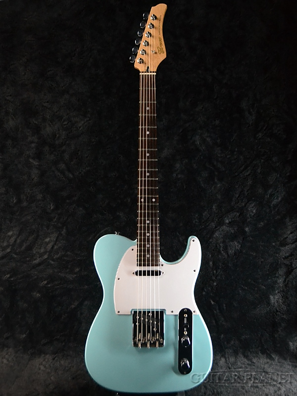 【ERNIE BALL4点セット付】Greco WST-STD Sky Blue/Rosewood 新品[グレコ][国産][ブルー,青][Telecaster,TL,テレキャスタータイプ][Electric Guitar,エレキギター]