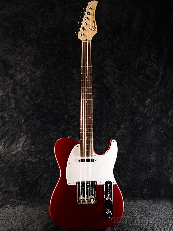 【ERNIE BALL4点セット付】Greco WST-STD MRD/Rosewood 新品[グレコ][国産][レッド,赤][Telecaster,TL,テレキャスタータイプ][Electric Guitar,エレキギター]