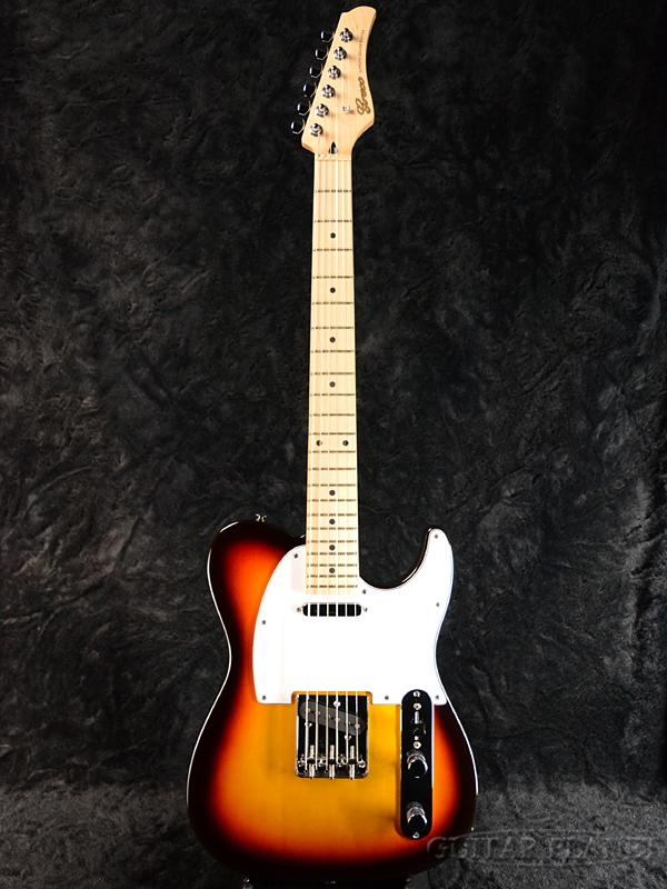 新品[グレコ][国産][サンバースト][Telecaster,TL,テレキャスタータイプ][Electric WST-STD BALL4点セット付】Greco 【ERNIE Guitar,エレキギター] Sunburst/Maple