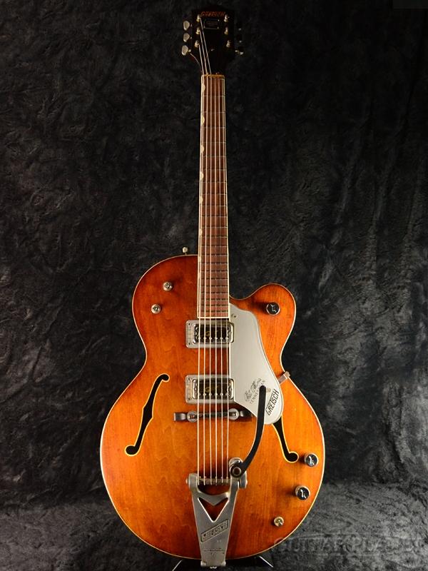 【中古】Gretsch #6119 Tennessean -Walnut- 1966年製[グレッチ][セミアコ][ウォルナット,茶,木目][Electric Guitar,エレキギター]【used_エレキギター】