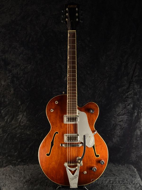 【中古】Gretsch 6119 Chet Atkins Tennessean -Dark Cherry- 1963年製【御委託品】[グレッチ][フルアコ][ダークチェリー,茶,木目][Electric Guitar,エレキギター]【used_エレキギター】