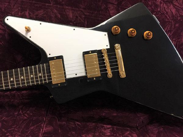 【中古】Gibson Custom Shop ~Custom Collection~ Explorer -Ebony- 2008年製[ギブソン][カスタムショップ][エクスプローラー][エボニー,ブラック,黒][Electric Guitar,エレキギター]【used_エレキギター】