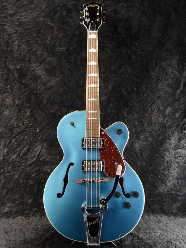 Gretsch G2420T Streamliner Hollow Body with Bigsby -Riviera Blue- 新品[グレッチ][ストリームライナー][ビグスビー][ブルー,青][フルアコ][Electric Guitar,エレキギター]